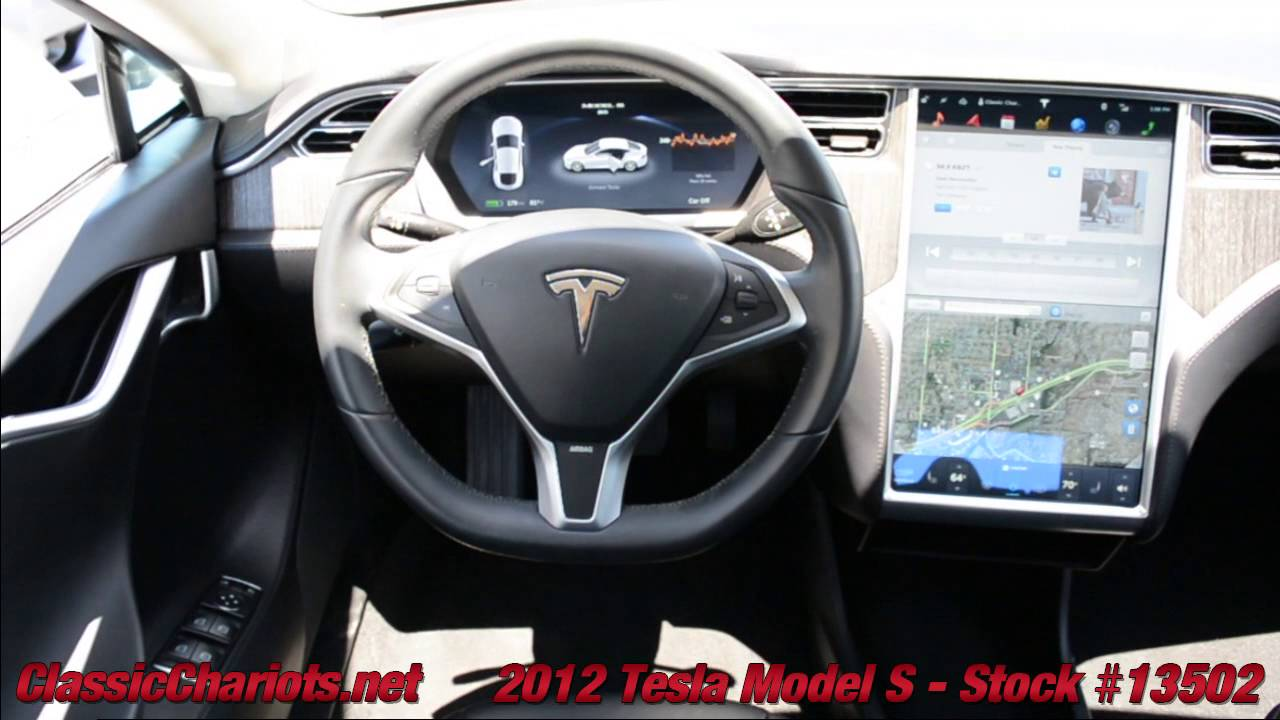 Used Tesla Model S For Sale >> Used 2012 Tesla Model S For Sale In Vista At Classic Chariots Stock 13502