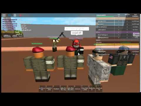 Roblox: Allied Airborne training Part 6 out of 9