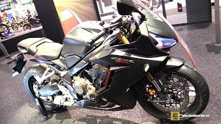 2019 Honda CBR650R - Walkaround - Debut at 2018 EICMA Milan