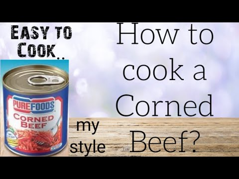 How To Cook CORNED BEEF?|PureFoods|My Style||SimplyZel