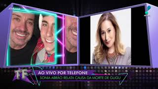Gugu e Silvio Santos conversaram por telefone e marcaram reencontro, diz Sonia Abrão