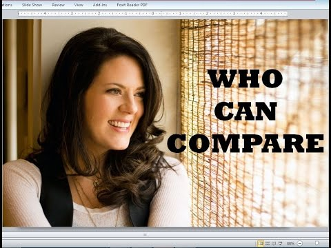 Christy Nockels - Who Can Compare (Lyrics)