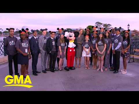 Donnie McClurkin - WATCH! Teenagers ready to make dreams a reality hosted at Disney World