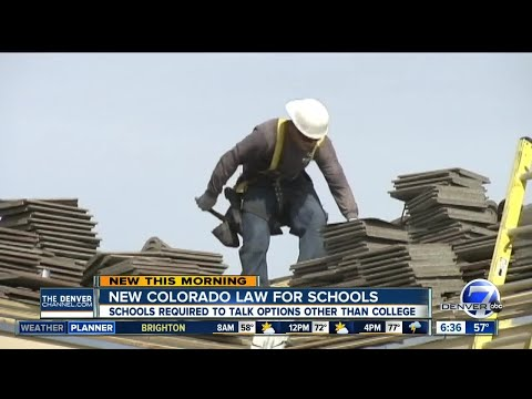 New Colorado law for schools