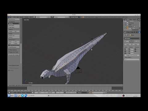 Ornithopoda BaseMesh Test 01