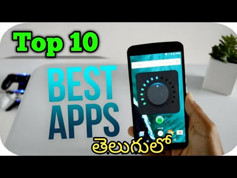 Top 10 Best Andriod Apps For Free Daily Life || In Telugu || Tech BadGuy