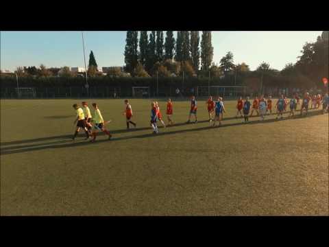 Opkomst voetbalwedstrijd Gemeente(raad) krimpen aan den IJssel - Jongerenwerk Krimpen