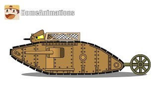 Рисуем танки первой мировой войны - Мультики про танки