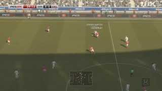 PES 2014 - Santos vs England - Gameplay [HD]