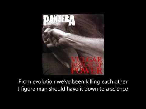 Pantera - No Good (Attack The Radical) (Lyrics)