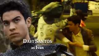 power rangers dino charge team up fan opening
