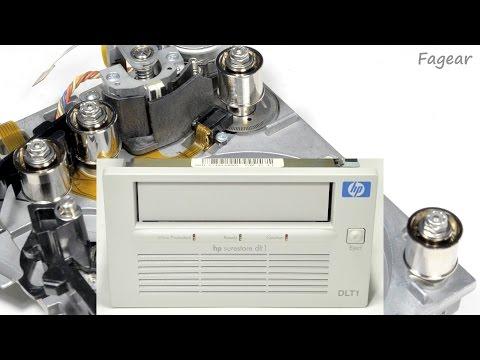 Данные на магнитной ленте (ч.3): DLT1, начало