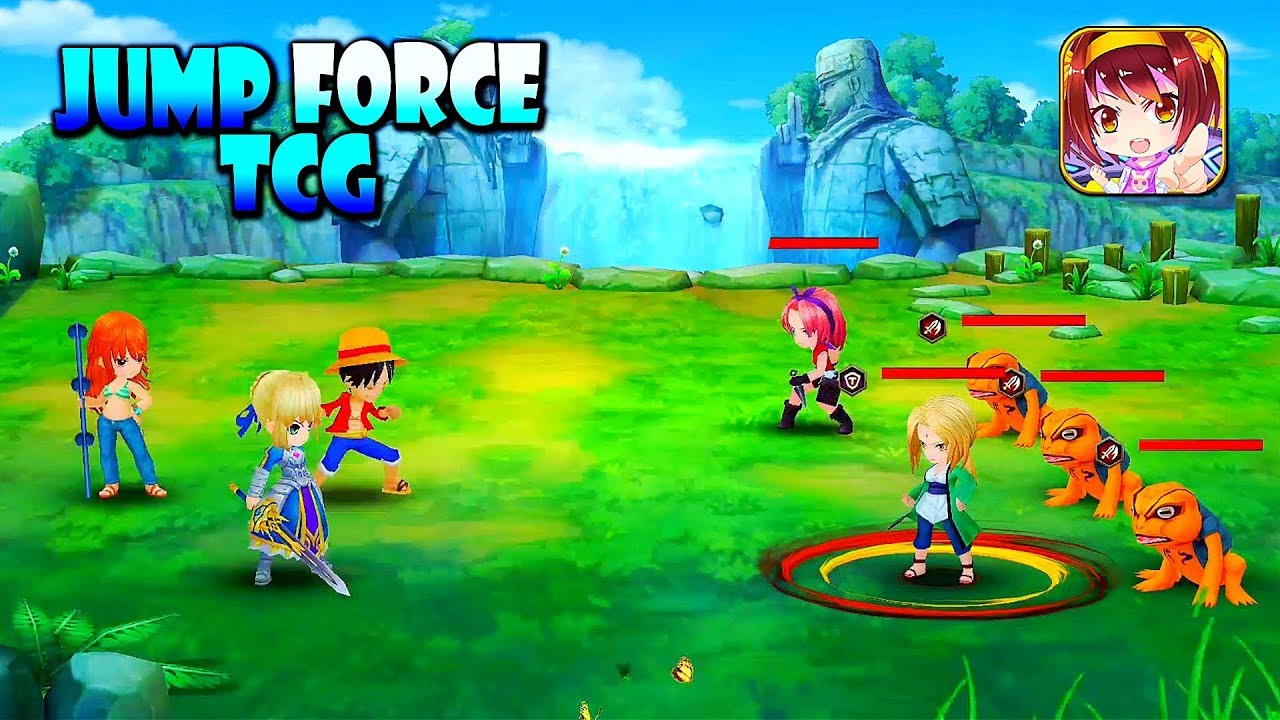 Jump Force TCG - Anime Gameplay (Android/IOS)