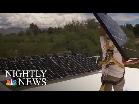In Tucson, Competing Interests Fight For Solar Energy Profits | NBC Nightly News