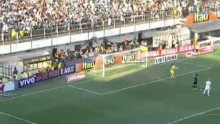 Melhores Momentos - Santos 3 x 2 Corinthians - 18ª Rodada - Campeonato Brasileiro 2012