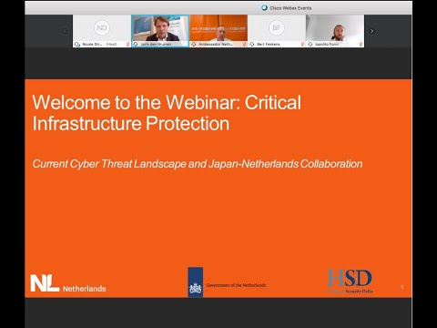 Collaboration Between The Netherlands And Japan On Critical Infrastructure Protection