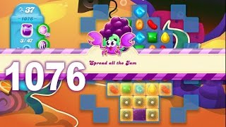 Candy Crush Soda Saga Level 1076 (No boosters)