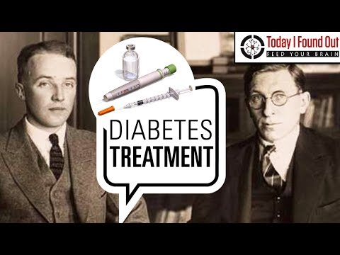 Frederick Banting and the Relatively Recent Discovery That H