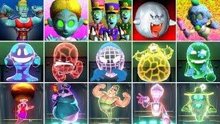 Luigi's Mansion Series - AĮl Ghosts