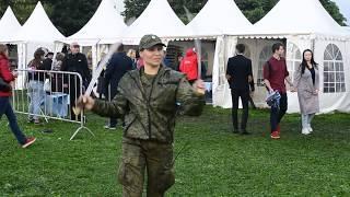 видео Казаки в усадьбе коломенское