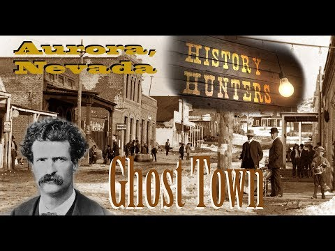Exploring Aurora, Nevada 1860's Ghost Town