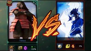 MADARA VS SASUKE (League of Legends)