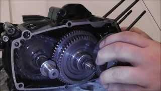 Tomos Engine Open Up / Tomos motor openen - A52 Crankcase/Carter