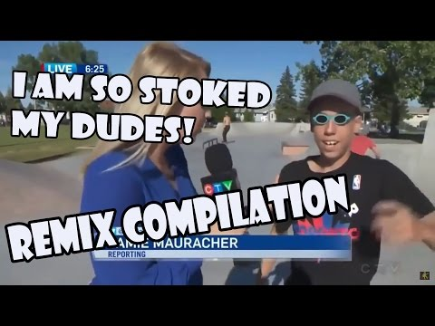 I AM SO STOKED MY DUDES, SKRR! - Remix Compilation