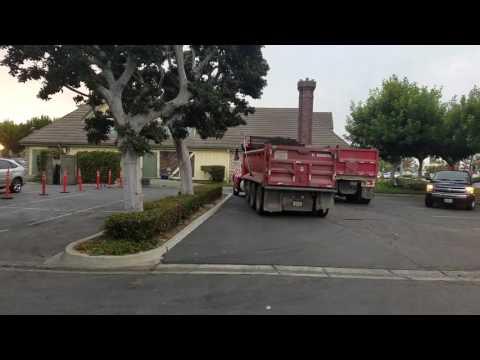 Dump truck Herrera bros trucking corp 112,115,118,117,108