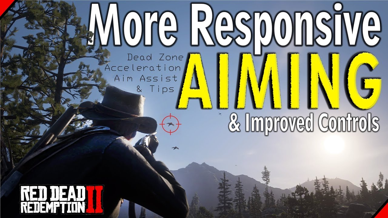 Red Dead Redemption 2 More Responsive Aiming Improved Controls Youtube