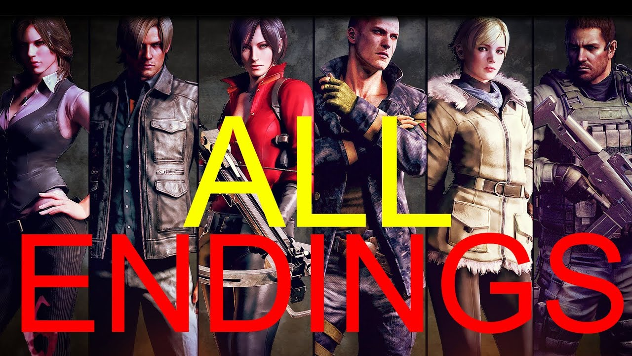 Resident Evil 6 Endings Secret Ending Video Games Blogger