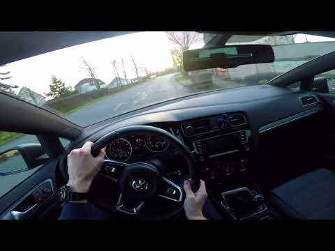 Volkswagen Golf R-Line 1.4 TSI (110 kW) 2015 - POV driving (city, highway, district road)