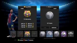 PES 2013|SMOKE PATCH 5.2 BLUE|HD