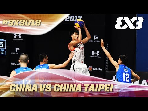 China wins it all against Chinese Taipei - Full Game - Asia Cup U18 - FIBA 3x3