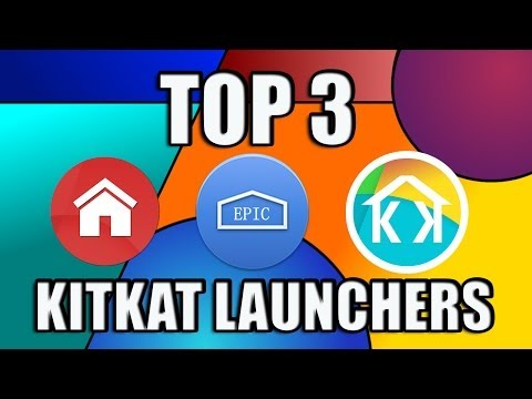 Top 3 Best KitKat Launchers For Android