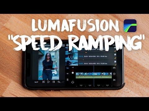 LumaFusion 'Speed Ramping