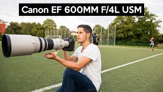 Canon EF 600mm F/4 IS USM | THE $12000 SUPER TELEPHOTO LENS on the Canon EOS 1Dx Mark II thumbnail