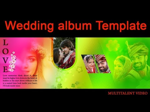 How To Create Photobook Album Design in Photoshop Hindi tutorial thumbnail