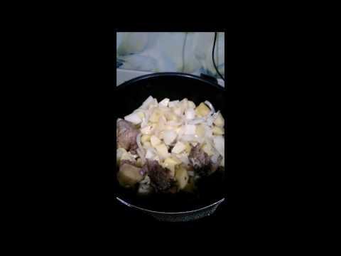 Утка с картошкой в мультиварке скороварке