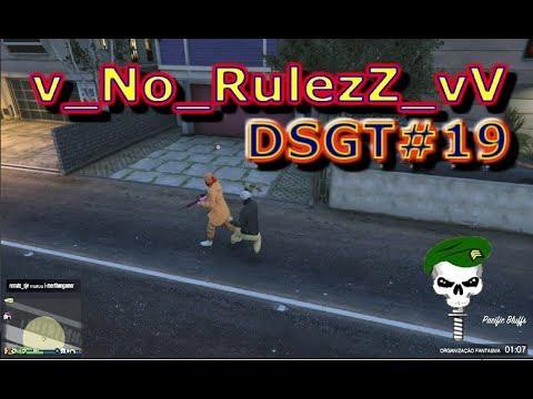 GTA V online 19 No Rullezz  5 muambeiros na sessão Publica