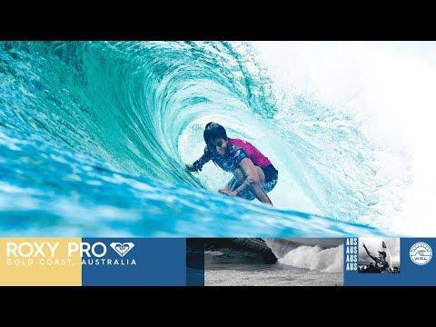 Marks vs. Gilmore vs. Lima - Round Three, Heat 3 - Roxy Pro Gold Coast 2018
