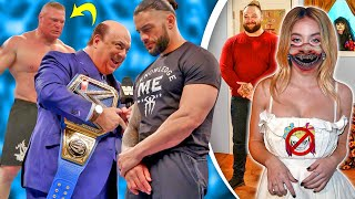Brock Lesnar REFUSING To Face Roman Reigns Becky Lynch SPOTTED Bray Wyatt Mixed Tag Partner