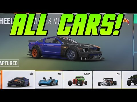 ALL HOT WHEELS EXPANSION CARS In Forza Horizon 3! These Are So COOL!
