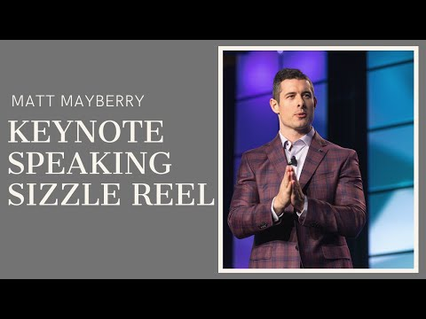 Matt Mayberry 2019 Keynote Speaking Sizzle Reel