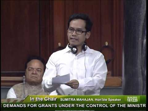 MP GAURAV GOGOI speech on Air Quality Index