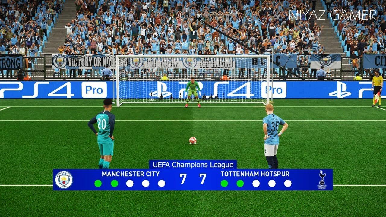 MANCHESTER CITY vs TOTTENHAM | UEFA Champions League - UCL ...