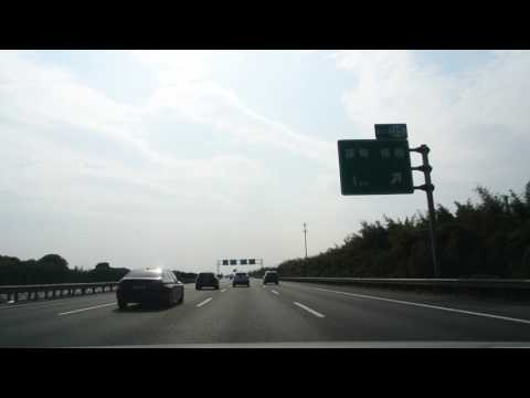 20170129_Driving on G15W Changtai & G60 Hukun Expressway from Jiaxing to Hangzhou