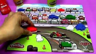 【Mielenkiintoinen Muovailuvaha】Pixar『Autot 2』Race paikan päällä tuotanto 01015+fi