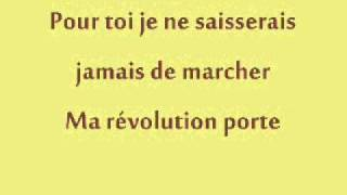 Jenifer - Ma Révolution (Paroles)