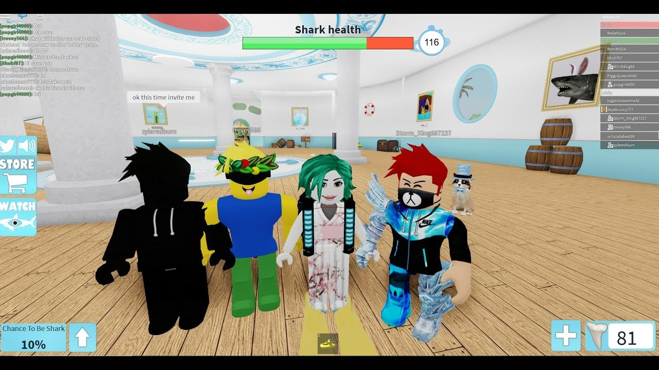 Roblox Sharkbite Viral Infection - team infected roblox